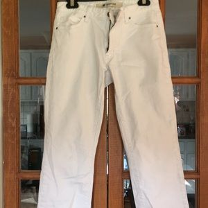 Gap Boot Cut White Jeans